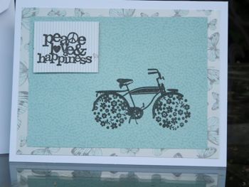 Peace Love and Happiness card by Mary Ann Aschenbrenner