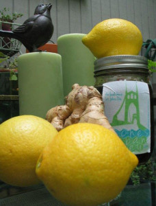 Lemon Ginger Elixer
