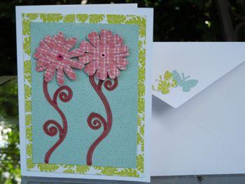 Handmade card by Mary Ann Aschenbrenner